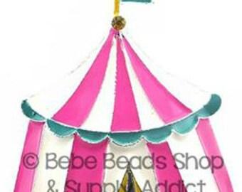 Circus Tent  Pendant