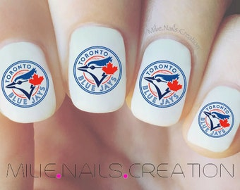 Blue Jays Nail Decal