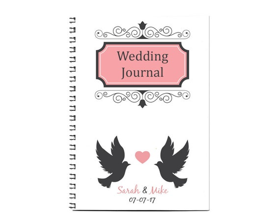 Wedding Planner Book - Engagement Gift - Wedding Stationery - A4 ...