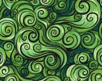 Paintbrush Studios - Nite Owls Wind Green
