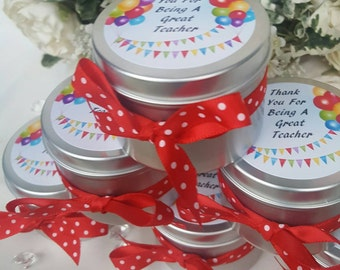Thank You Gift For Teachers - Soy Wax Candle -