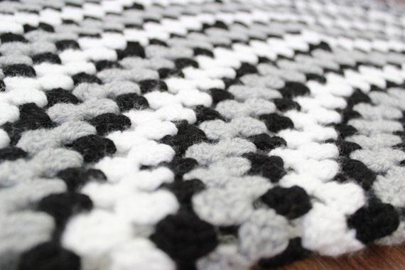 Häkeln Sie Crochet Kinderwagen Decke neue von HomemadeByShiFio