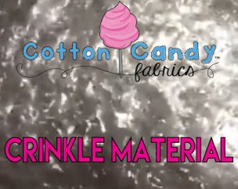 Crinkle Paper Material - Commercial Grade - Add Texture & Noise to Toys!