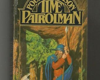 signed paperback, Time Patroman, Poul Anderson