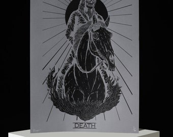 Death (Black) Screenprint