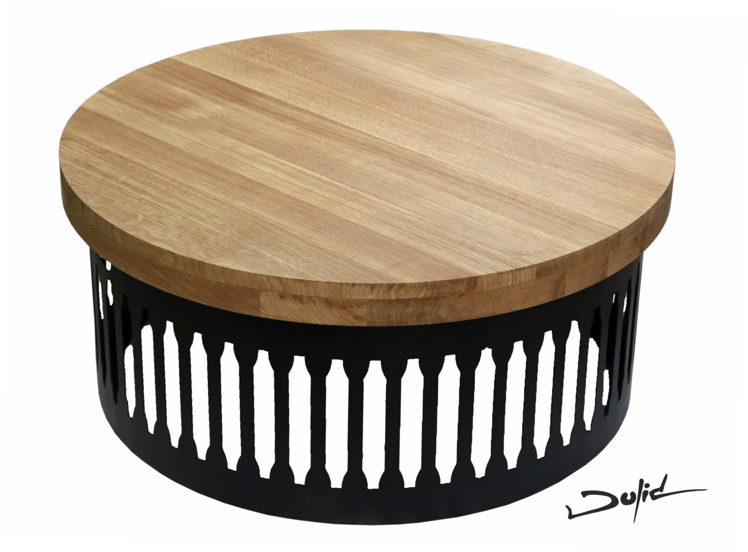 Loft Round Coffee Table Drum