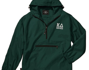 Kappa Delta Pack-N-Go Pullover (white embroidery)