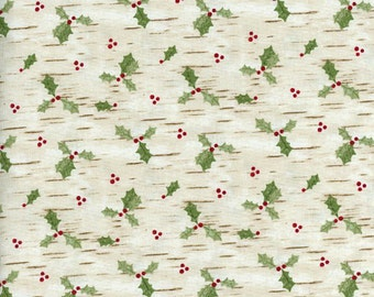1 YD - Woodland Christmas (Cream) by Blank Quilting
