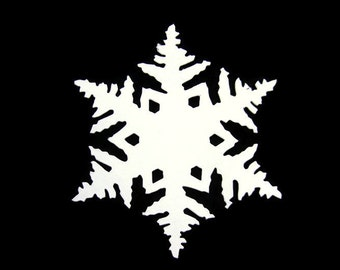 Extra Large Snowflake Die Cut Set of 8