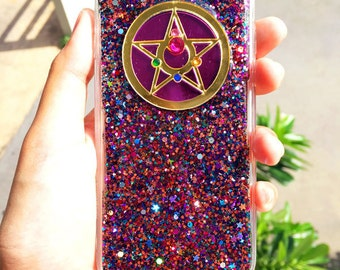 Made to Order - Sailor Moon Crystal Star Compact sparkle glitter phone case