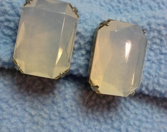 Fabulous Ice Crystal Clip Earrings