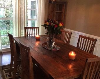 Barnwood Farmhouse Tables