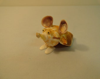 Cute Mouse Made Out Of Shells