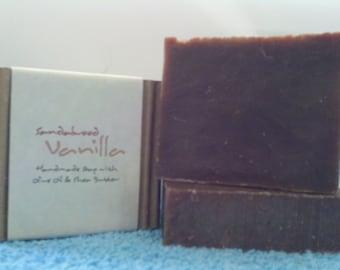 Sandalwood Vanilla Soap,Sandalwood Vanilla Bath Soap,Sandalwood Vanilla Soap Bar,Sandalwood Vanilla Bar Soap,Vegan Soap,Organic Soap