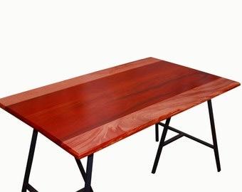 3 Mahogany and Padauk Table Tops