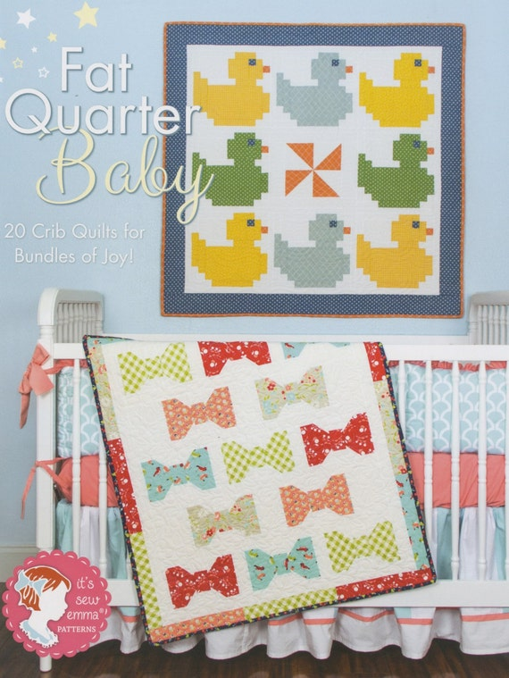 Book Cover Sewing Quarter : Fat quarter baby book from it s sew emma softcover