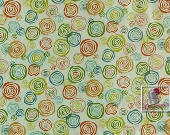 FQ ou 1/2 verge, Interplay, by Nancy Heffron, P & B Textiles, 100% Cotton