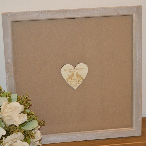 Wedding Gift Drop Box : Top Box Guest Book Personalised. Guestbook alternative, Drop Box, Gift ...