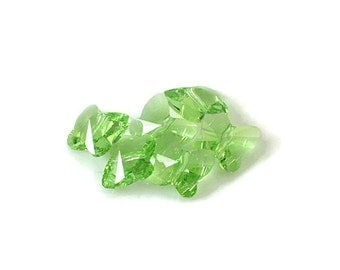 Swarovski Crystal 12mm Butterfly Bead 5754 Peridot