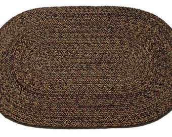 Highland Classic Braided Rug 100% Wool