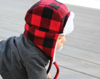 Baby Bomber Hat | Trapper Hat | Lumberjack Hat