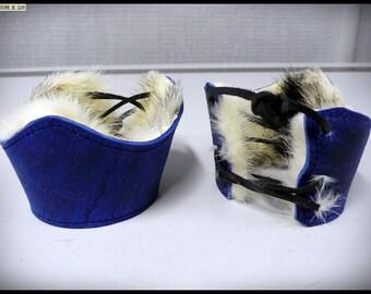 Pair of cuffs / cuffs medieval / Viking
