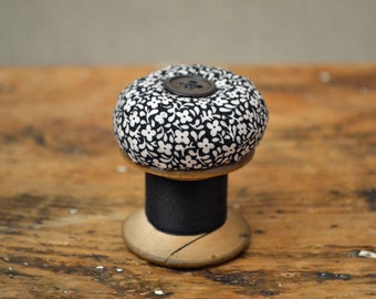 Vintage Cotton Reel Pincushion - 'The Mini-Pinny' Pin Cushion