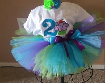 Cupcake tutu outfit