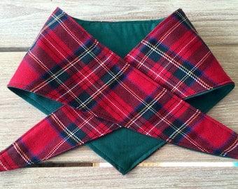 Quality dog bandana....Highland Twist!