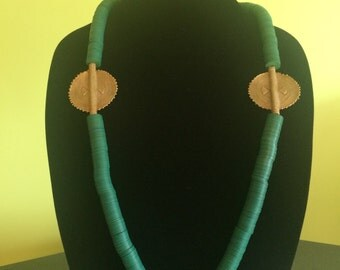 Modern Currency Necklace