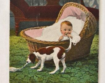 Antique Funny Postcard 1910 (#42)