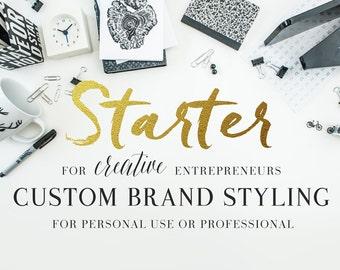 Custom Branding Package, Custom Logo Design, Business Branding, Shop Branding, Small Business Brand Design, Photography Logo, Shop Logo