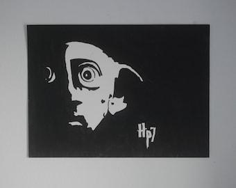 Black and White Dobby
