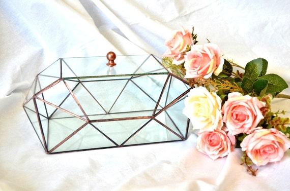 Wedding card box Ark with lid Modern Wedding table Decor – Modern Wedding Card Box