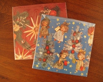 Vintage Christmas Wrapping Paper Etsy
