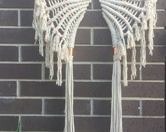 Macrame 'Flight' Wall hanging