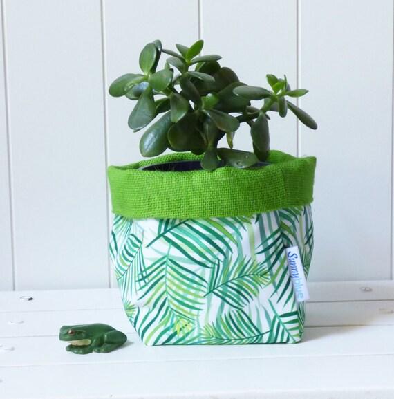 Fabric Storage Basket Storage Bin Gift Basket Green Lime