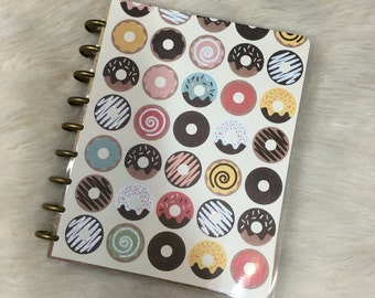 Glitter Donuts Planner Cover