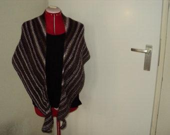 Handknit Stylish wrap/cowl/shawl *Ready to ship*