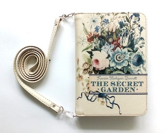 "Book clutch ""The secret garden"""