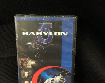 Babylon 5 VHS Collectors Edition 1994 A Voice In The Wilderness Part 1 and 2