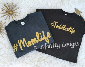 Toddler Life Tee, Toddler t-shirt, Toddler graphic tee, Toddler life shirt