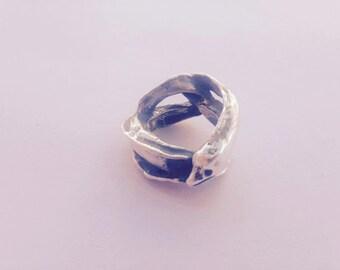 Moray eel ring
