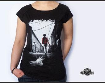 "Raglan T-shirt ""infestation"" fair trade & organic"