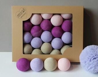 Cotton Balls Girl Love 10 items