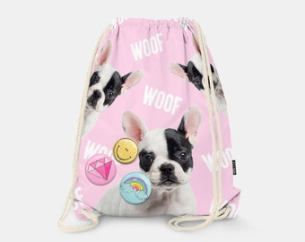 Bag-backpack Woof!