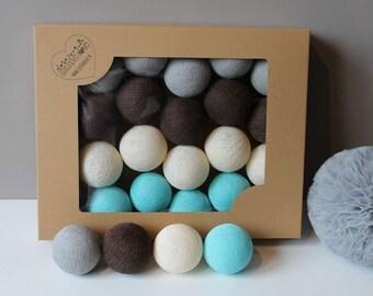 Cotton Balls Lazurove 35 items