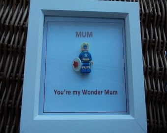 Mum you are my wonder mum, Mothers day gift, birthday gift, wonder-woman, gift for her,  wedding day gift