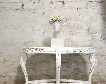 Painted Cottage Prairie Chic Shabby Coffee Table ENT138