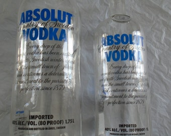Absolut Vodka ~ Empty Bottle